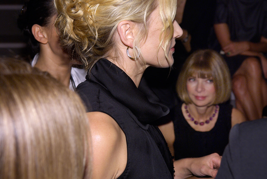 BOSS BLACK SHOW NYC Kate Winslet & Anna Wintour